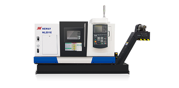 NL series - High speed CNC slant bed lathe with linear guideway