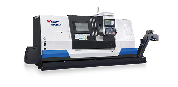 NL series - Heavy duty CNC slant bed lathe with box guideway