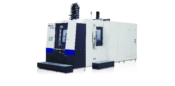 HM series - Horizontal machining center V type