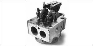 Monomer type cylinder head