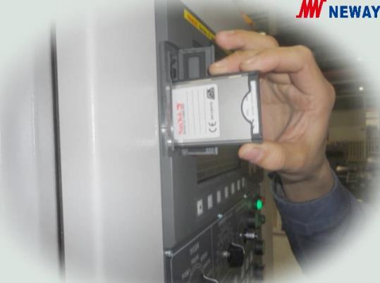 用存贮卡进行DNC零件加工